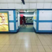 Tube station, London