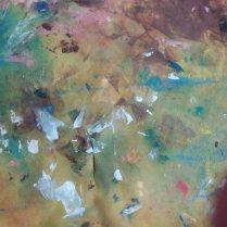 Painting Rag Splodges